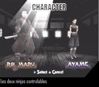Tenchu - Stealth Assassins, capture décran